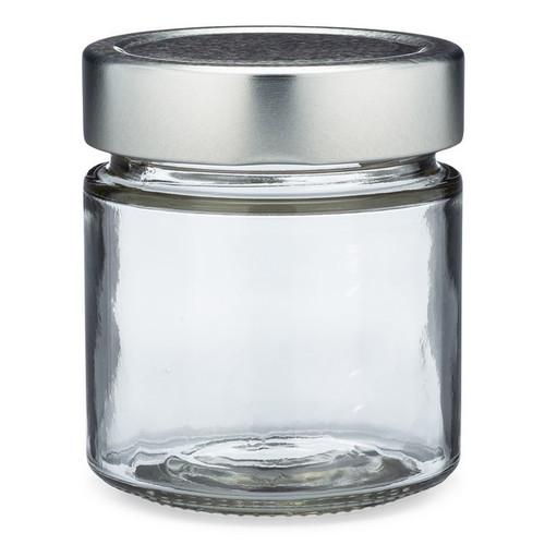 9f6d34e62e17 Clear Glass Ergo Food Jars with Lug Caps