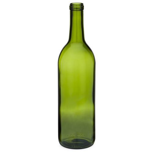 2be17dd73080 750 ml Amber Glass Hock Wine Bottles, Cork Finish | Berlin
