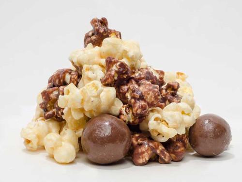 Chocolate Malt Ball Popcorn