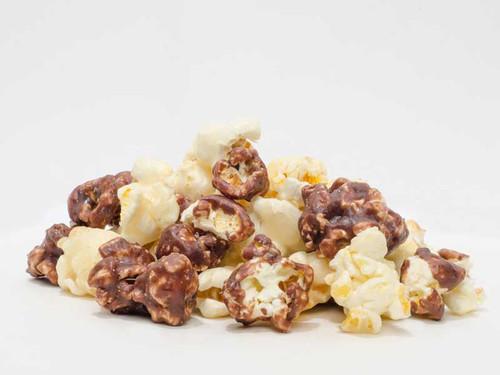 Chocolate Vanilla Popcorn | Made by MainStreet Fudge and Popcorn