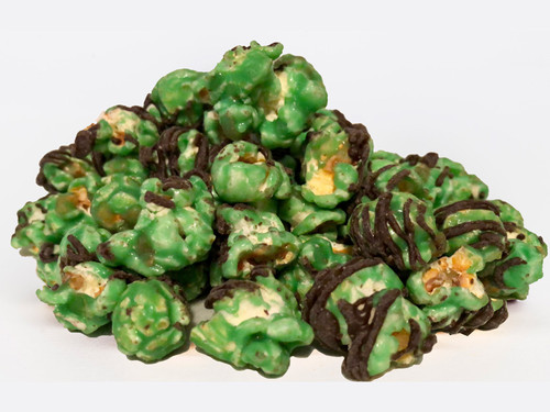 Mint with Chocolate Drizzle Popcorn