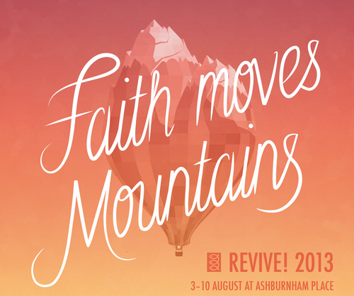 Evening Celebration - Faith Moves Mountains by Roger Forster