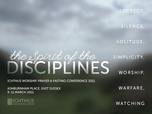 Discipline of Silence by Sarah Fordham