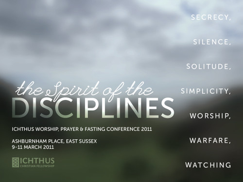 Discipline of Worship / Watching by Chris Orange and Faith Forster