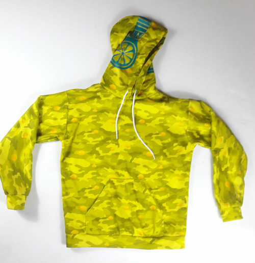 Yellow camo hoodie