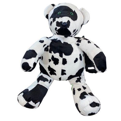 Backpack Teddy Bear Cow Print plush toy Giant 36 inch