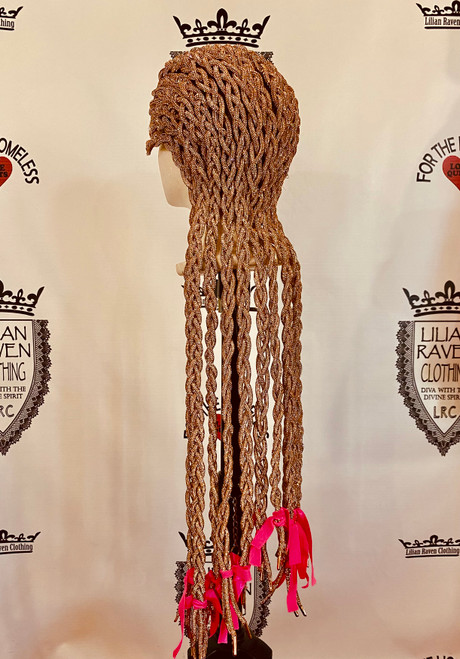 Gangster Braided Rose Gold Wig