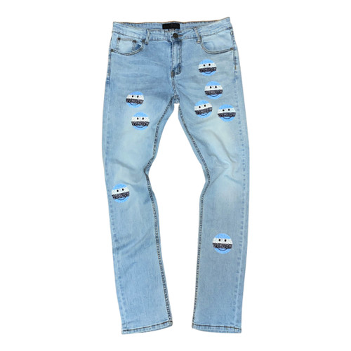 Smiley Face Jeans
