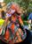 Orange Camo True Timber Durag