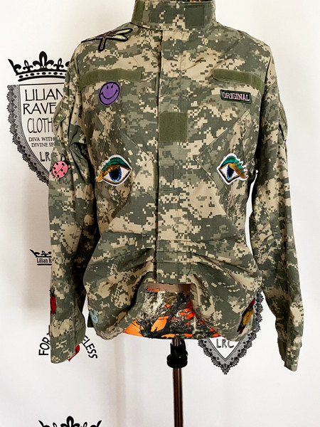 Eyes on Me  Military Army Jacket