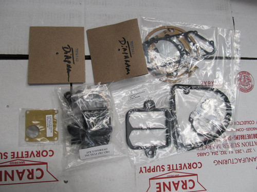 1963-65 CORVETTE ROCHESTER FUEL INJECTION REBUILD DELUXE KIT WITH DIAPHRAMS