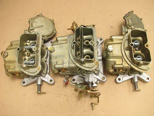 67 Corvette 3659 3660 TRI-POWER HOLLEY CARBURETORS 427/435 400 DATED - tripower