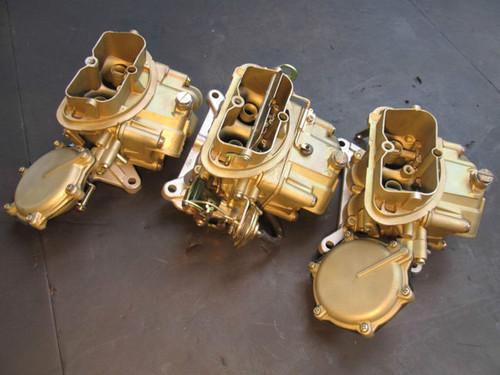 1968 CORVETTE 3X2 RARE AUTOMATIC HOLLEY OF CARBURETORS TRI-POWER DATED RESTORED CARB L71 L68 427 CORVETTE