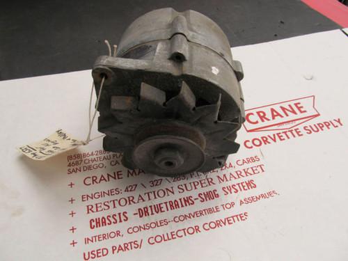 1967 CORVETTE CAMARO CHEVELLE ALTERNATOR 1100693 37 AMP DATED 6J27 327