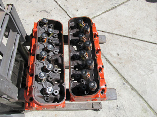 1966 corvette cylinder heads big block 427 390hp 3872702