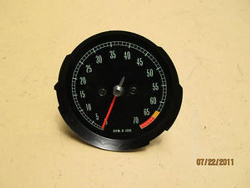 1965-66-67  NOS NEW GM 6500 REDLINE TACHOMETER #6412223 tach #1 GAUGE