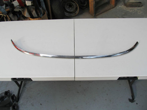 63 Corvette Coupe LOWER WINDSHIELD MOULDING STAINLESS TRIM - molding