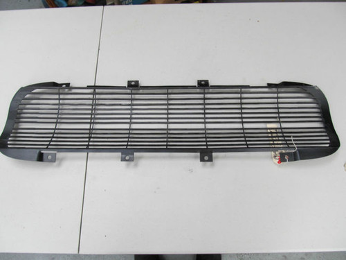 62 Corvette BLACK FRONT GRILL SALE$$- new exact replica  grille Anodized as gm origina