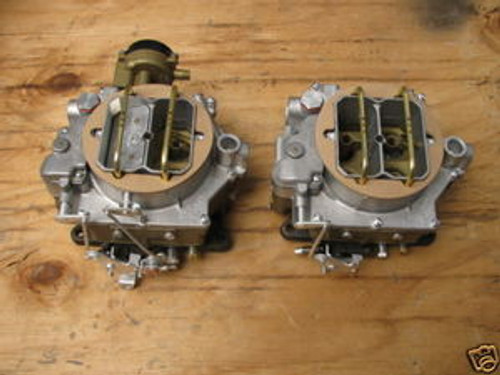 1956-57 CORVETTE   SALE! $$2999    DUAL QUAD 2X4 WCFB CARBURETORS 2419S  2362S