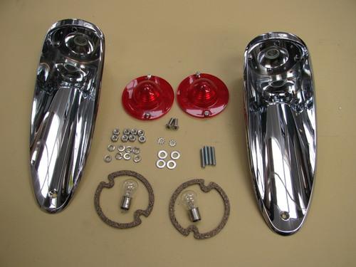 56-57 Corvette Rear Tail Lights