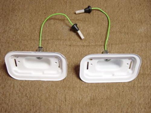 68 Corvette Back-Up Lamp Housing