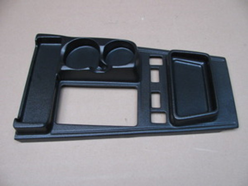 84-89 Corvette Shifter Console Cover & Cup Holder