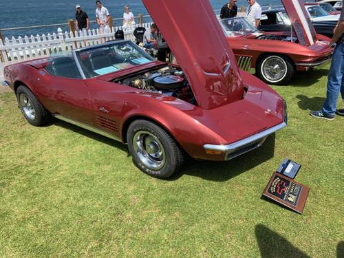 1970 Chevrolet Corvette Convertible 2D