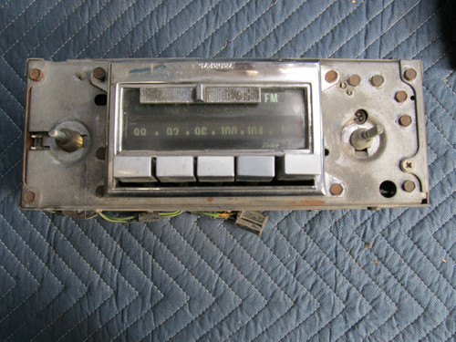 1968-71 CORVETTE AM/FM radio  Delco-Remy NOT WORKING, SOLD AS IS