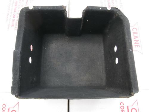 "1968-74 CORVETTE  ORIGINAL FELTLINER CARDBOARD JACK STORAGE TRAY BOX 6.5"" DEEP"