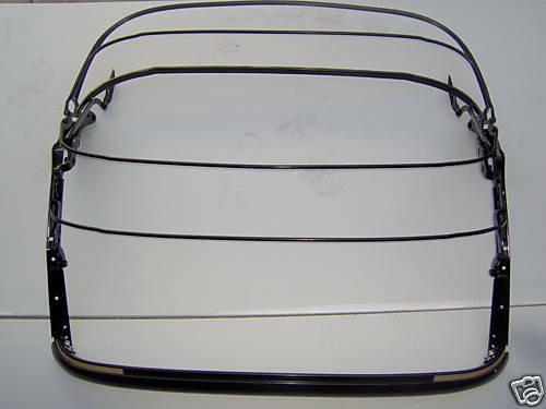 1961-1962 Corvette CONVERTIBLE SALE = SOFT TOP FRAME assembly DECK RUBBER
