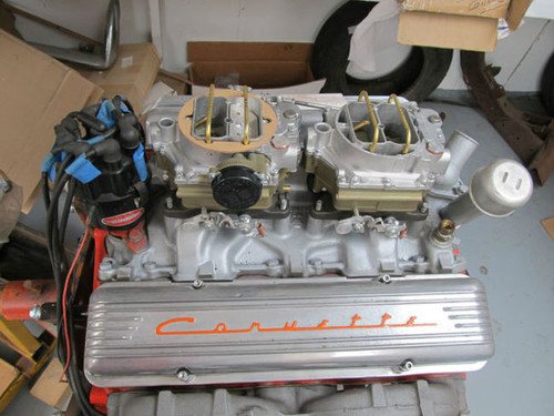 1957 Corvette 283 270 hp Corvette or  PASSENGER CAR DUAL QUAD ENGINE F425EB