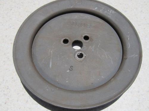 1968-72  CORVETTE BIG BLOCK 427 454 all ORIGINAL SMOG PUMP PULLEY   3925522