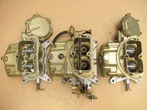 68-69 Corvette 3659 4055 TRI-POWER HOLLEY CARBURETORS 427/435 DATED -  tripower
