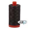Aurifil 50wt Asphalt (5013) thread