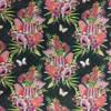 Australian Garden Twist - Black Floral