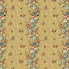 Anne's English Scrapbox by Di Ford Hall : Floral Stripe, Beige