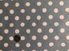 Linen Dot - Large on Blue