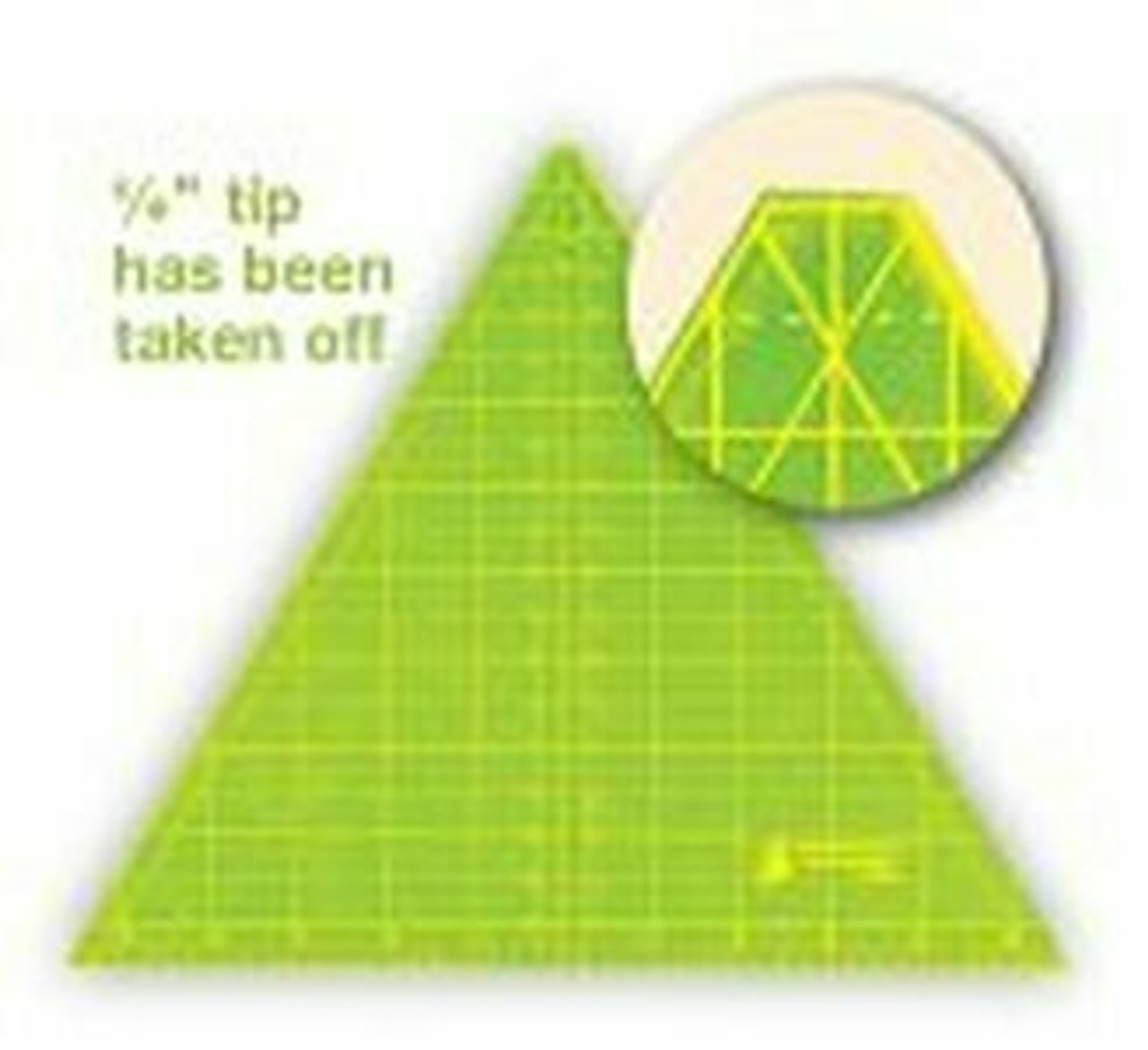 "12.5"" 60 degree triangle"