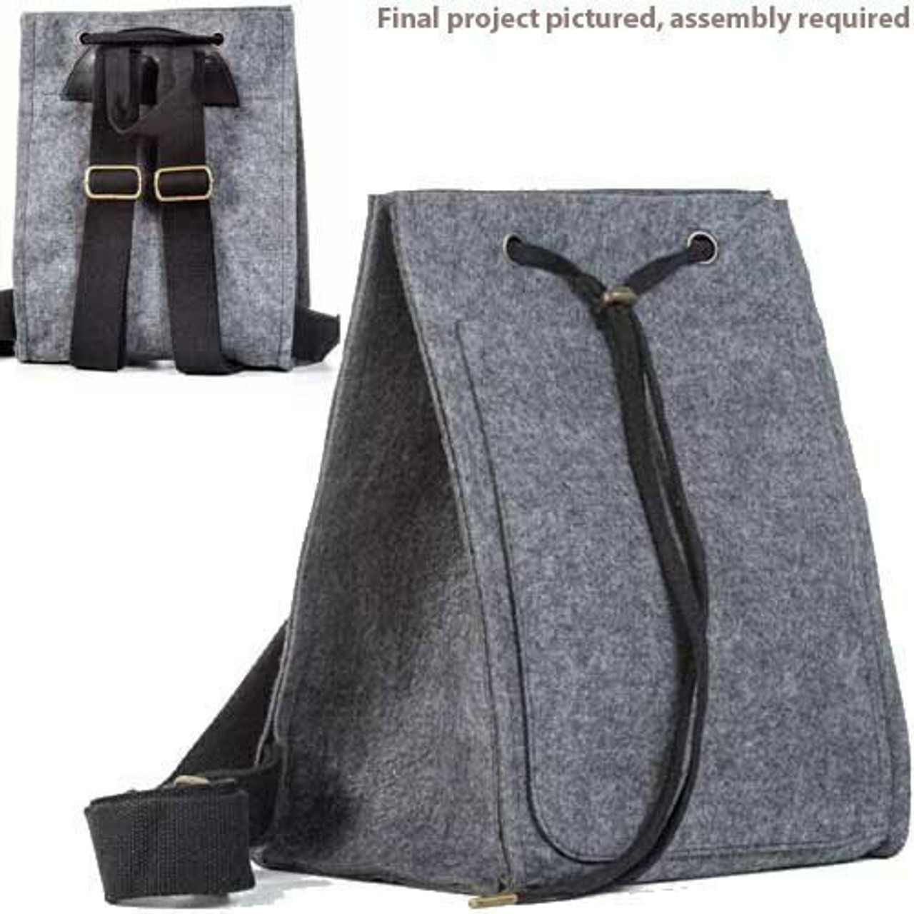 Aster and Anne Felt Bag Kit - Amalia Back Pack