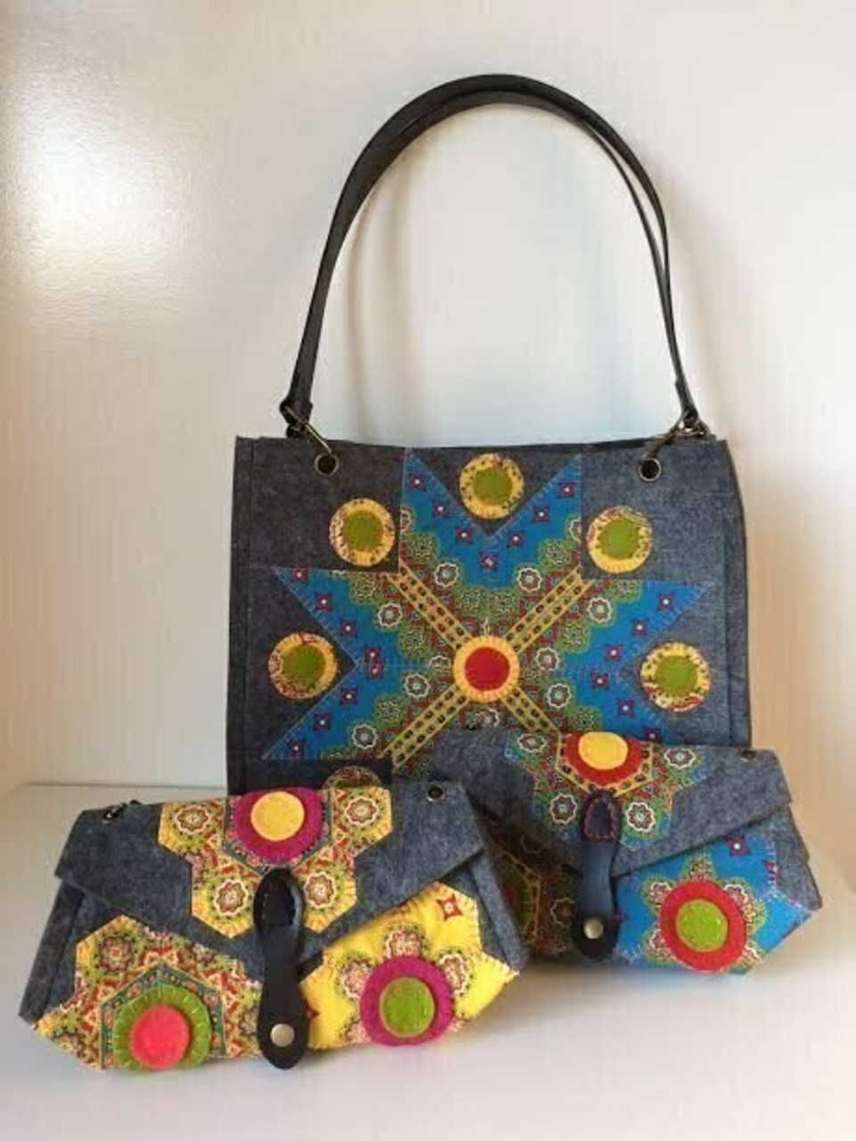 Aster and Anne Felt Bag Kit - Grace Tote