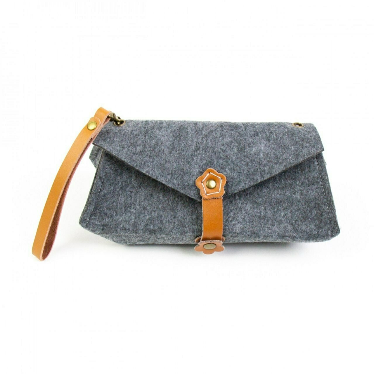 Aster & Anne Felt Bag Kit - Luella Clutch small
