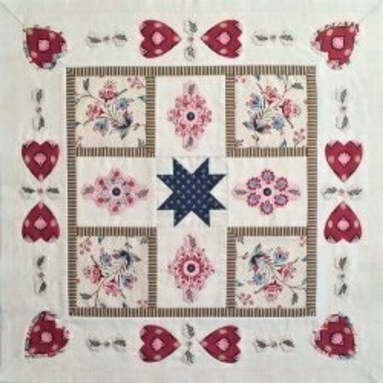 Bathwick - Quiltmania 2018 Mystery Quilt