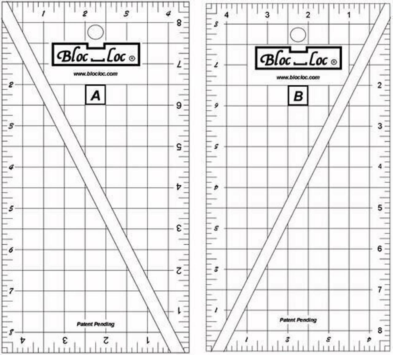 Bloc Loc Half Rectangle Triangle 2:1 Set - Small