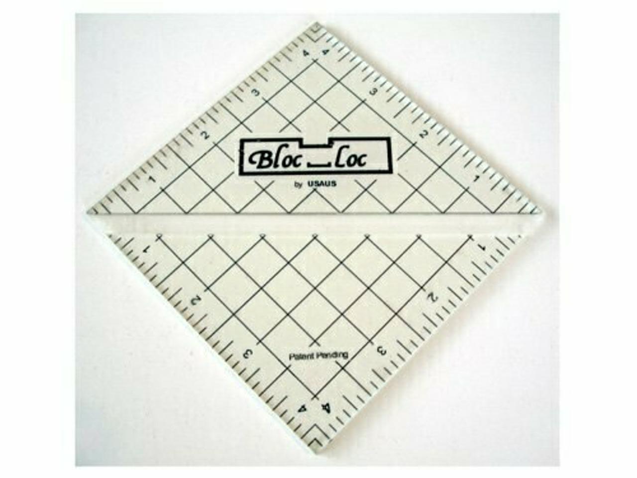 """Bloc Loc Half Square Triangle 4.5"""""""