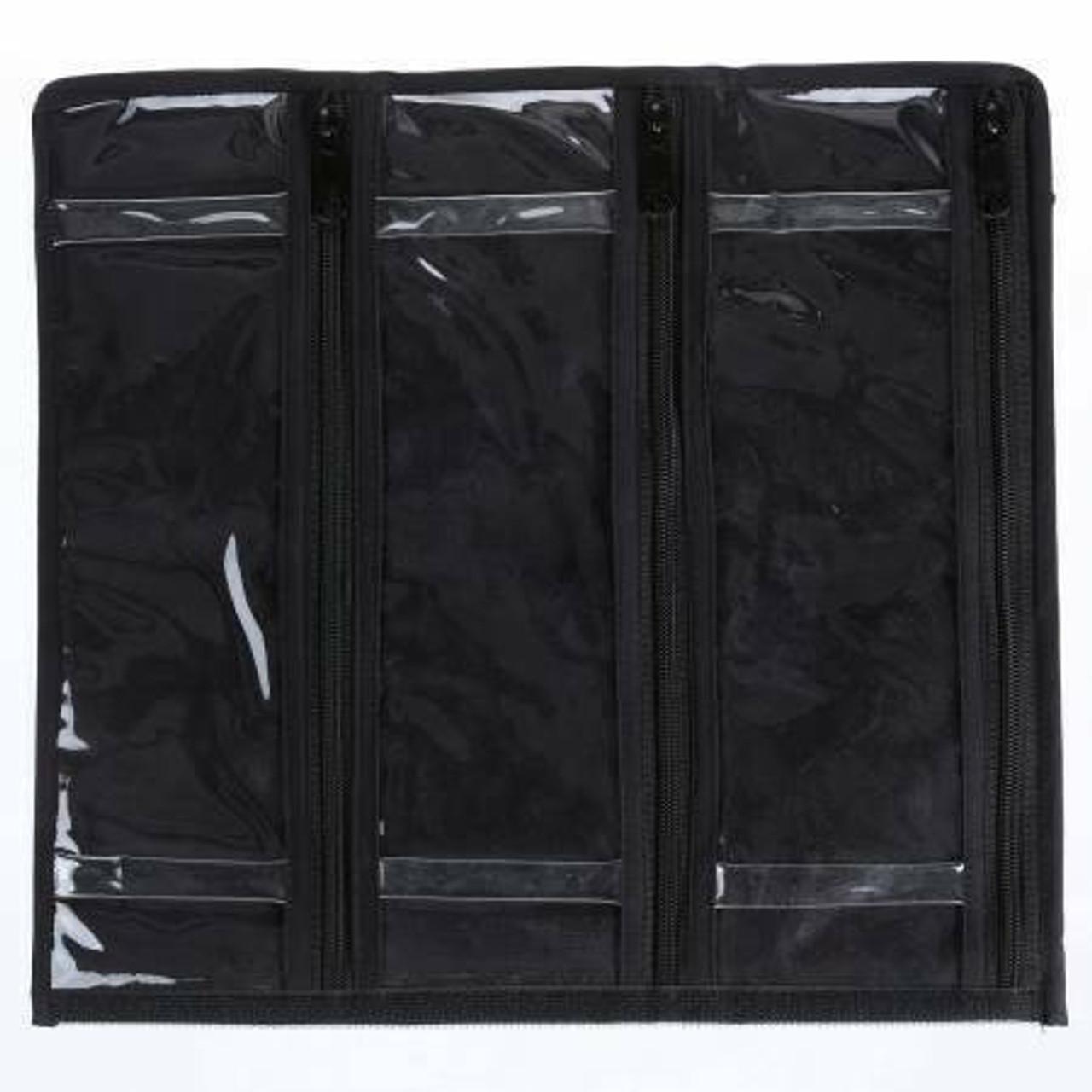 Clear Allium Spool Sac Zipper Pouch (6 pocket)
