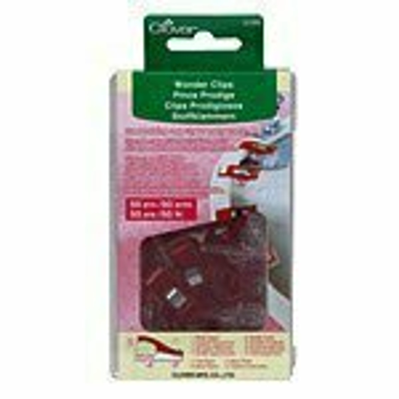 Clover Wonderclips - 50 pack