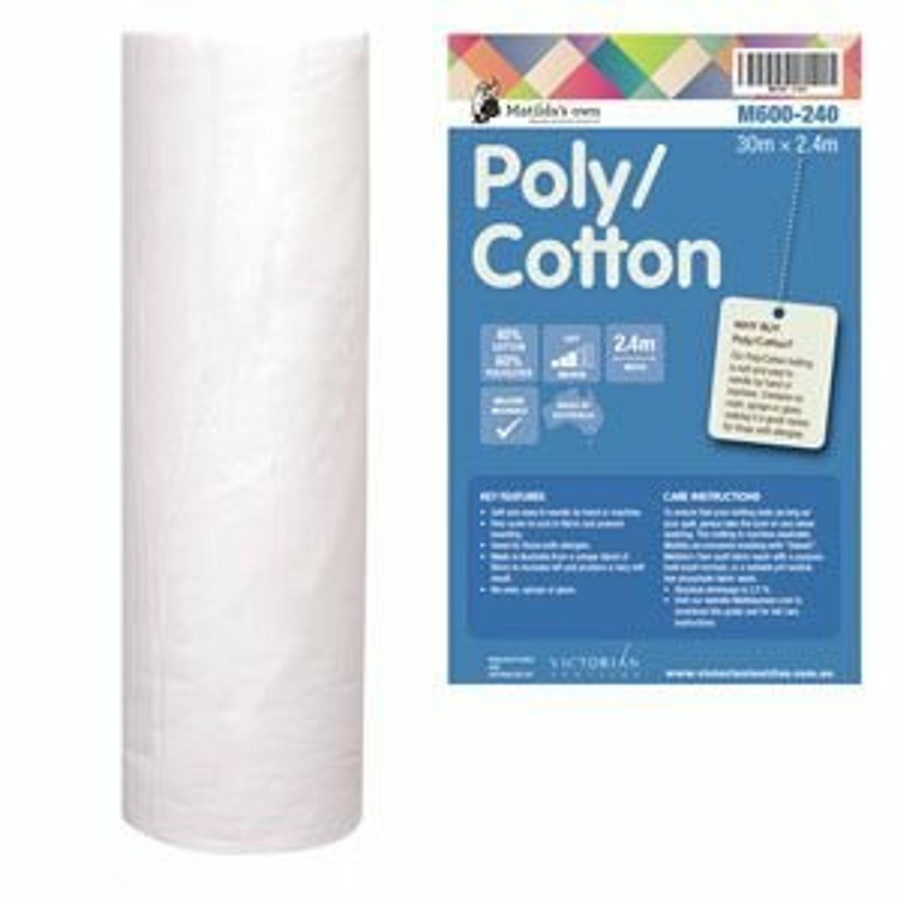 Cotton/Poly Batting