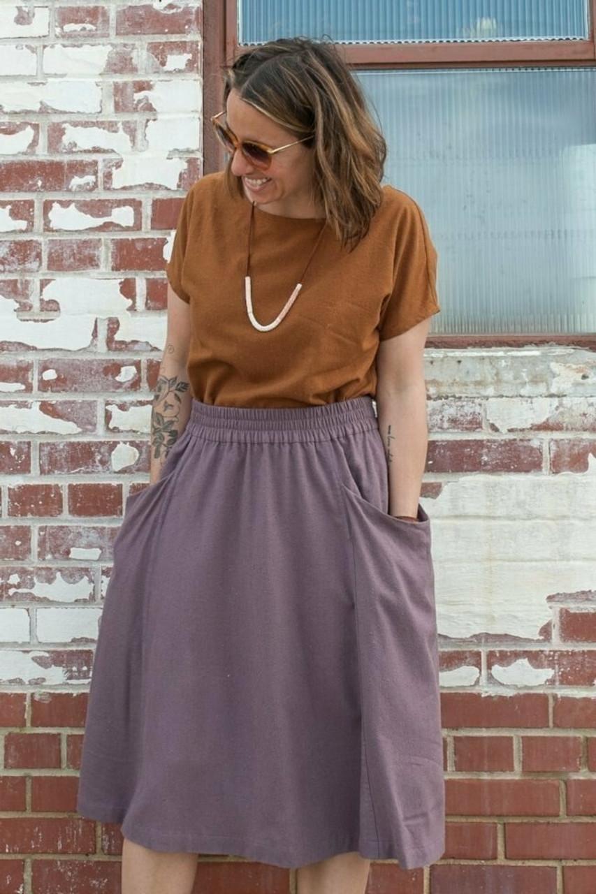 Sew Liberated : Gypsum Skirt