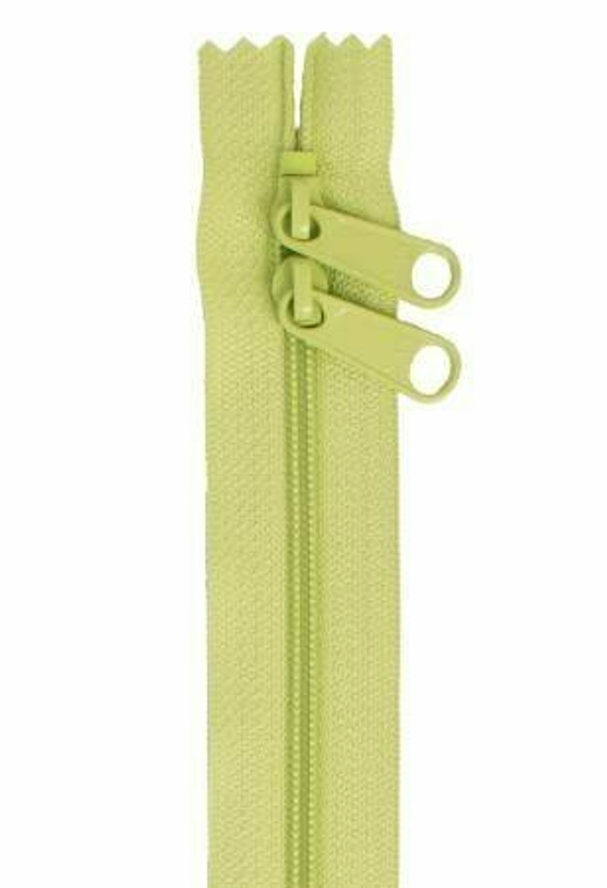 Handbag Zipper 30in - Chartreuse