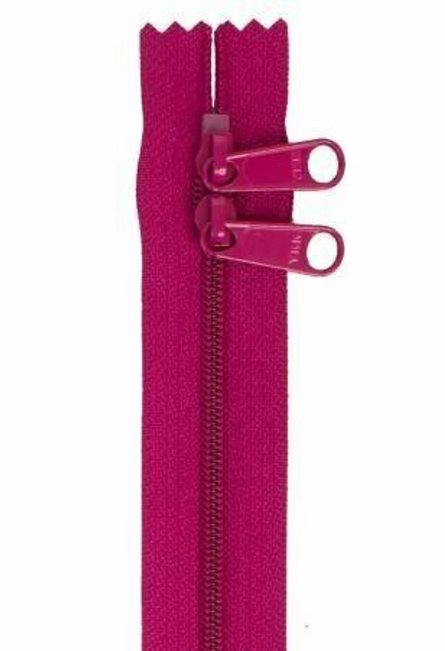 Handbag Zipper 30in - Wild Plum